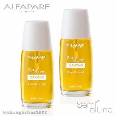 2X ALFAPARF Semi Di Lino Cristalli Liquidi Illuminating Serum 50 ml / 1.69oz.