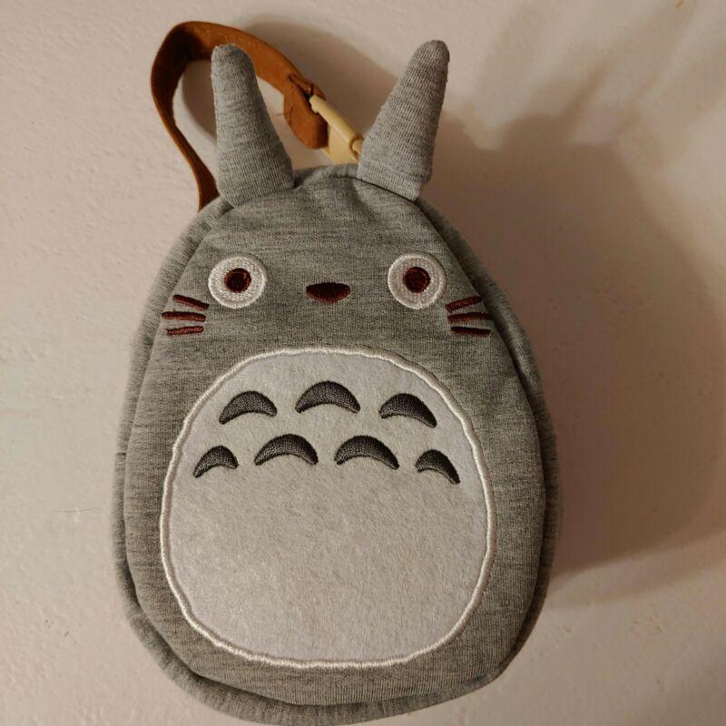 My Neighbor Totoro - Plush Fabric Carry Pouch Purse - Studio Ghibli - Toreba