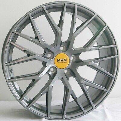 19 Zoll MAM RS4 Alufelgen Set Palladium RS Grau für Audi A6 4G F2 Performance