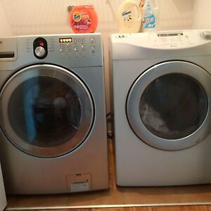 Samsung and maytag washer and dryer
