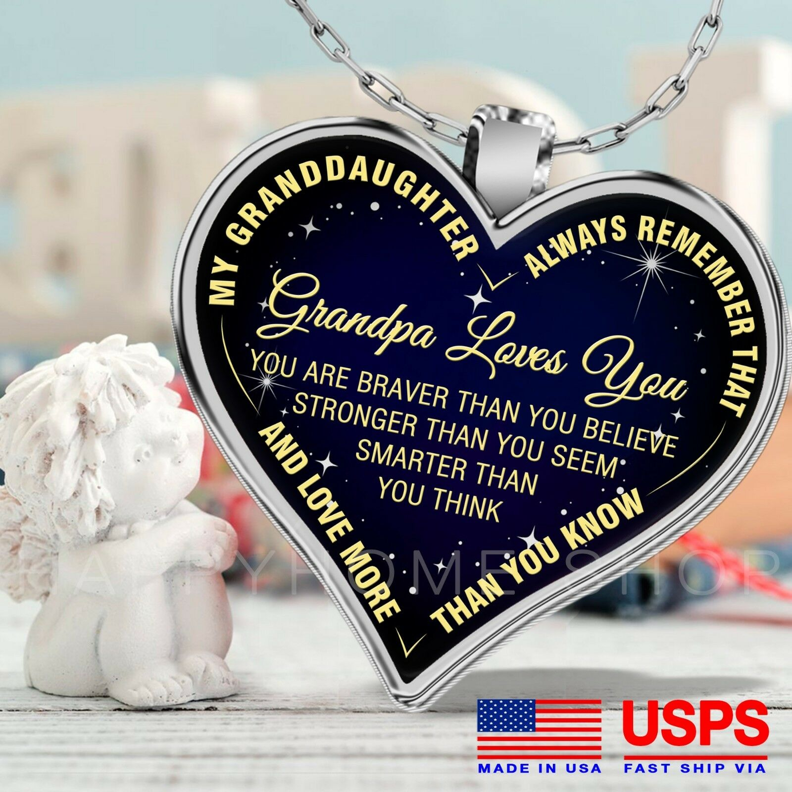 to My Christin Always Remember That I Love You Loved Than Know Love Husband Wife Valentine Gift Birthday Gift Necklace Name Stronger Than Seem Smarter Than Think Braver Than Believe