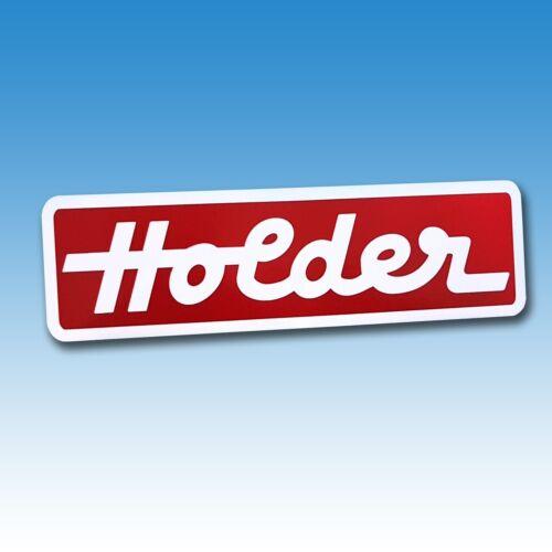 Haubenaufkleber Holder weiß/rot AM 2 AG 3 AG 35 B 25 015248 Foto 1