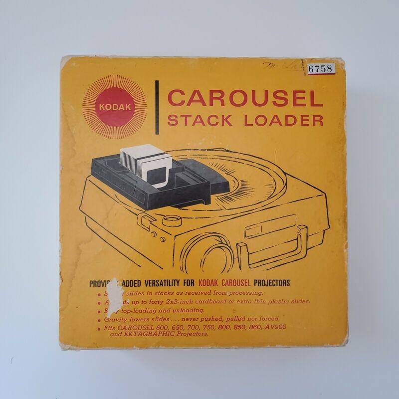 Kodak Carousel Stack Loader Vintage B40 Photo Slide Photography