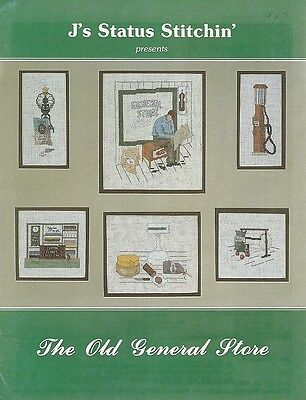 Cross Stitch Leaflet : THE OLD GENERAL STORE - by Jessie Davis - (The Crossings Stores)