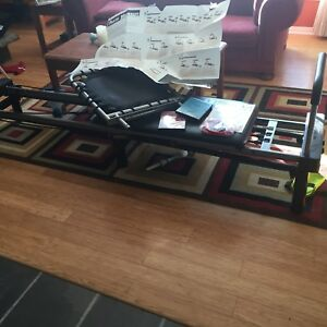 Aero Pilates bench with stand