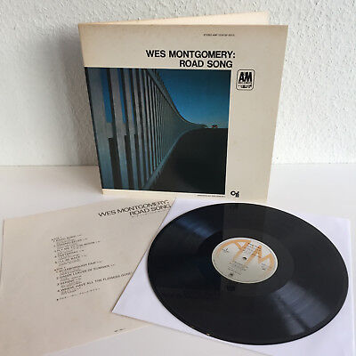 Wes Montgomery - Road Song   Erstpressung Japan, 1968   LP: Near MINT / NM
