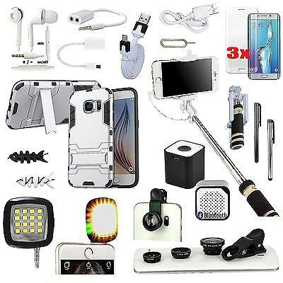 All x Case Cover Fish Eye Speaker Monopod Accessory For Samsung Galaxy S7 Edge