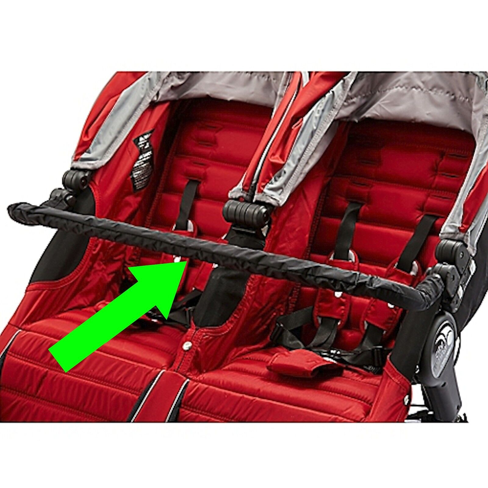 NEW DOUBLE BABY JOGGER SUMMIT X3 BELLY BAR  Listing Is NOT