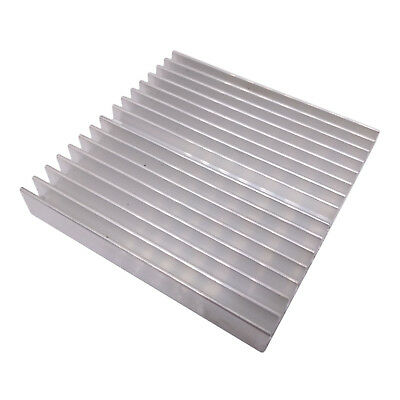 Us Stock 10pcs 60 X 60 X 10mm Heat Sink Cooling Aluminum Heatsink Cpu Ic Led