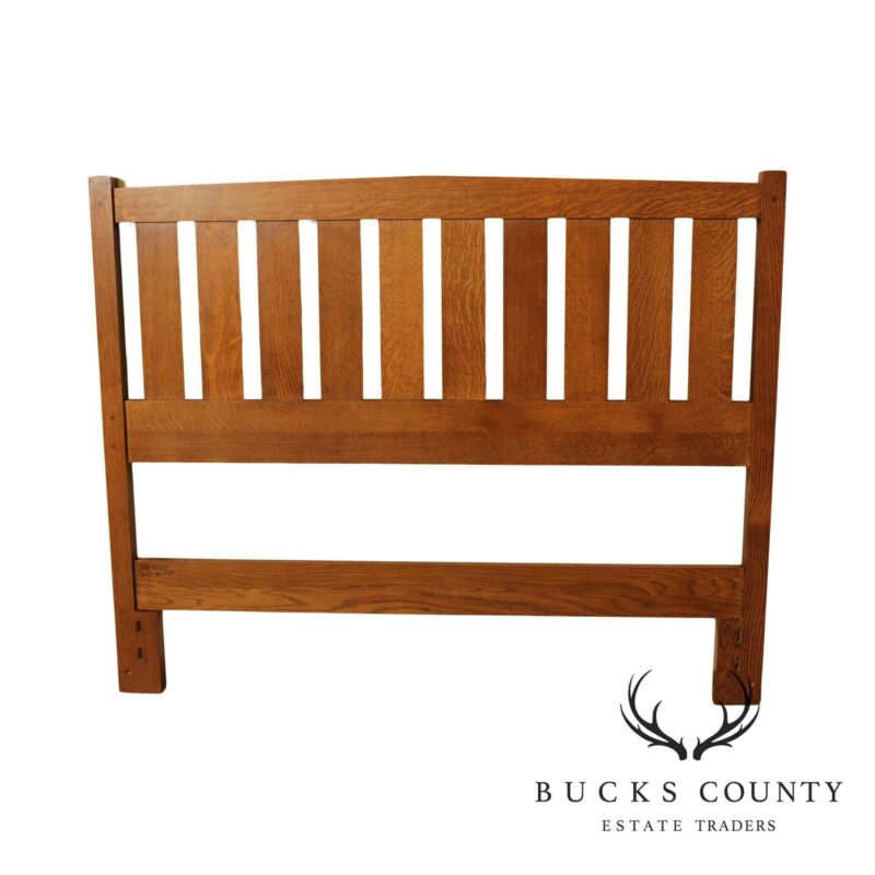 Stickley Mission Collection Oak Full Size Headboard