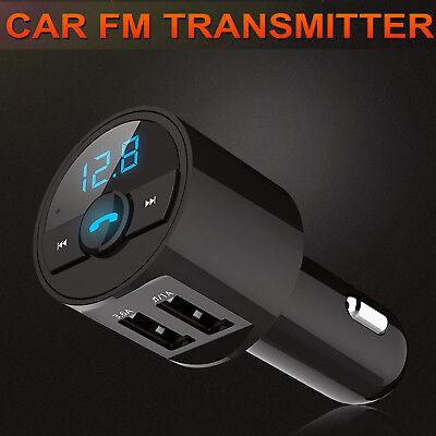 Inalámbrico Bluetooth coche reproductor de MP3 FM Transmisor Radio USB Mechero