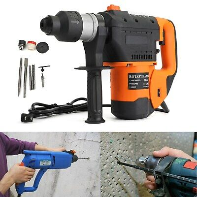 1-12 Sds Electric Rotary Hammer Drill Plus Demolition Variable Speed Wbits