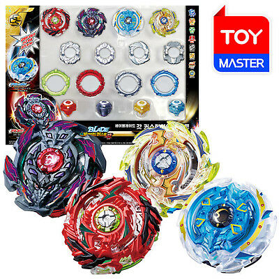 Takaratomy Beyblade Burst B-98 God Customize Booster Set of 4 Spin Tops Oroginal