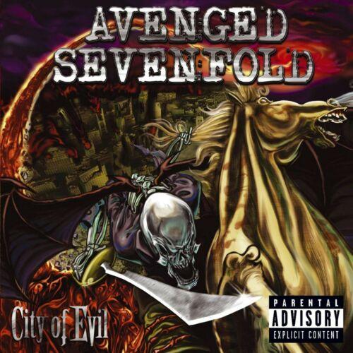 AVENGED SEVENFOLD City of Evil BANNER HUGE 4X4 Ft Fabric Poster Tapestry Flag