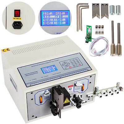 Computer Wire Peeling Stripping Cutting Machine Mechanical 0.1-4.5mm Swt508-sd