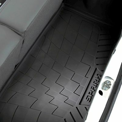 2013 2015 Chevrolet Spark Premium Black All Weather Cargo Mat by GM 95105321