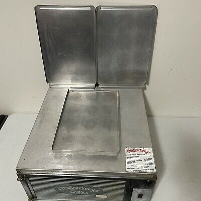 Used Otis Spunkmeyer Electric Commercial Cookie Oven Model Os-1 With 3 Pans