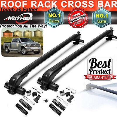 2x Car Top Crossbar Roof Rack For Dodge Ram 1500 2500 3500 Grand Caravan Luggage