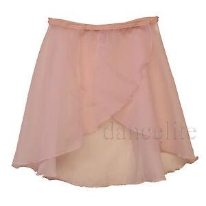 RAD-Pink-Georgette-Chiffon-Wrap-Over-Ballet-Dance-skirt