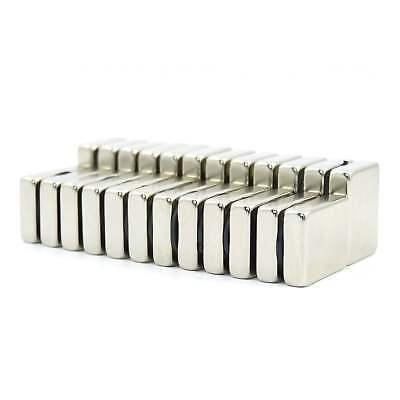 20mm x 15mm x 5mm N52 Neodymium block magnets science DIY MR