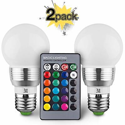 2 Pack 16 Color Massimo Retro LED Color Changing Light...