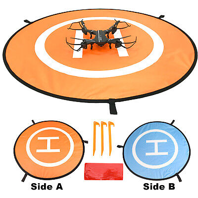 Quadcopter Drone Launch Pad Land Helipad Accessory For DJI Mavic Phantom 4/3/2