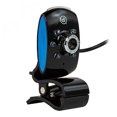 Digital Innovations Chat Cam Webcam Black Brand New