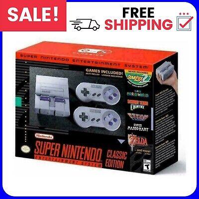New Super SNES HD Classic Edition Mini Console Brand New In Stock...