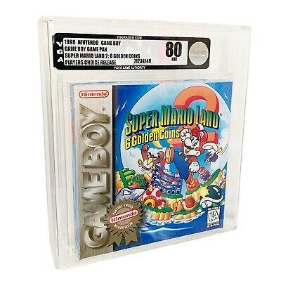 NEW Nintendo Game Boy, Super Mario Land 2 - 6 Golden Coins...