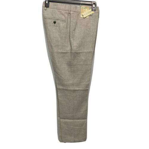 Caribbean Roundtree & Yorke Mens Linen Beach Slacks Pants 36×32 Khaki Clothing, Shoes & Accessories