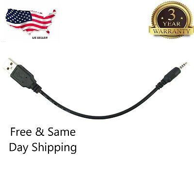 USB Wall Charger Plug Cable 2.5mm Adapter For JBL Synchros E40BT E50BT Headphone comprar usado  Enviando para Brazil