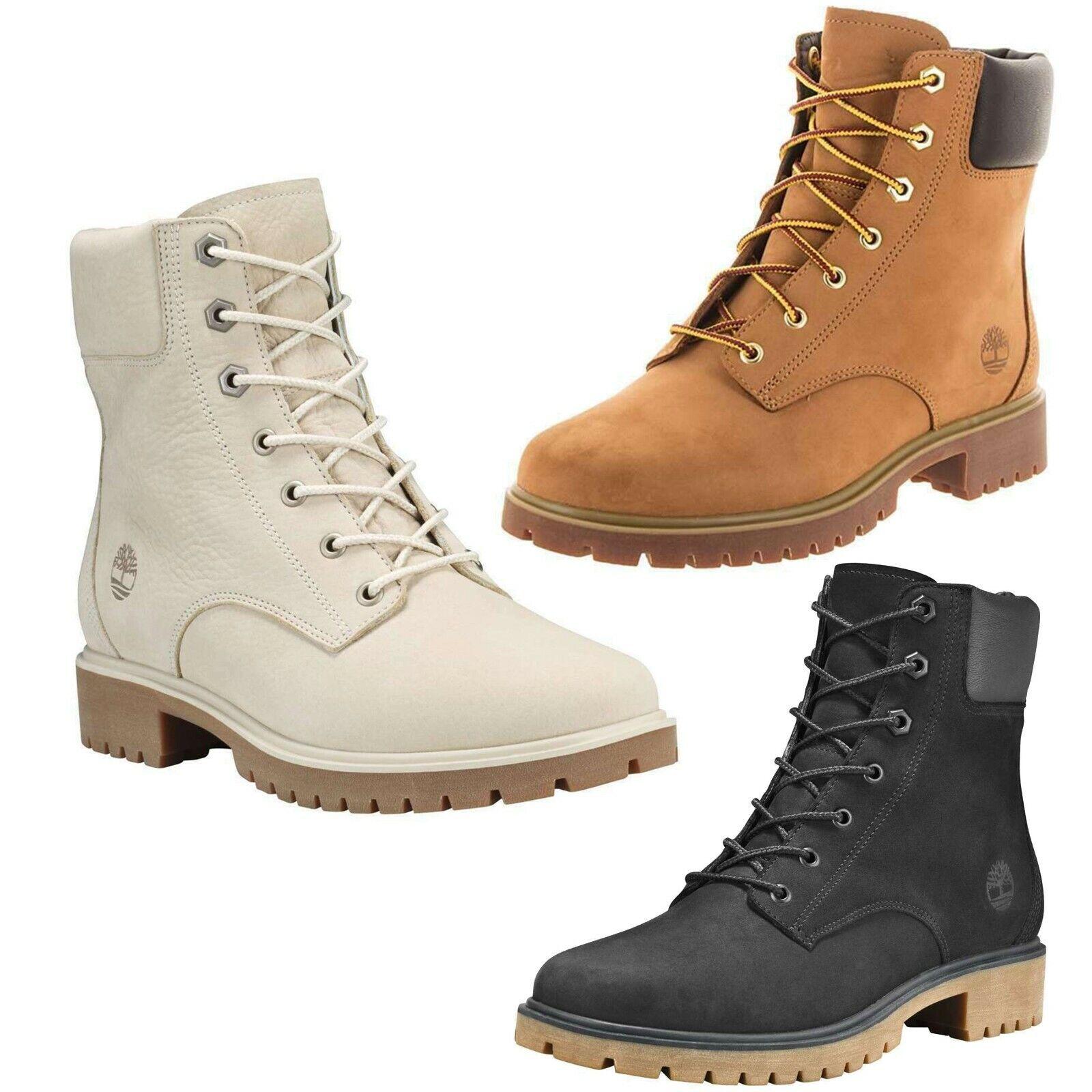 Timberland Women's Jayne 6 Inch Waterproof Rustproof Leather Winter Boots