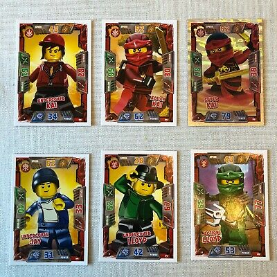 Lego Ninjago Trading Cards - SERIES 2 *choose your cards* (Pick any 4 for £2.00)