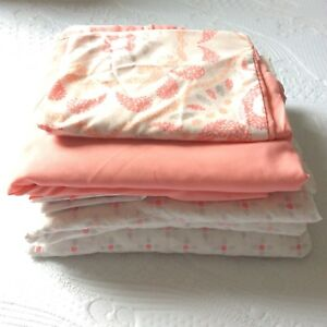 Twin sheet set and bed skirt