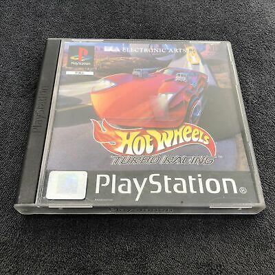 PS1 Hot Wheels ~ Turbo Racing ~ FRA Très Bon état