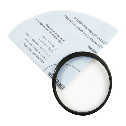 3 pack Reusable Dry Filter and Mounting Ring designed for Shop Vac 9010700
