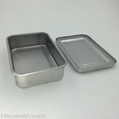 Stainless Steel Instruments Tray Case 6 Sterilization Tray Surgical Instrument