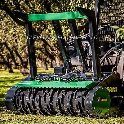 New Brush-hound Fhx66 Defender Forestry Mulcher Attachment Bobcat Cat Skid Steer