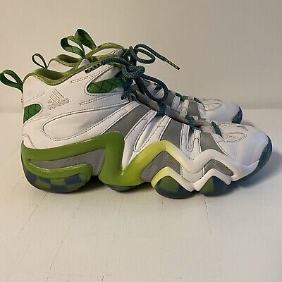 ADIDAS Crazy 8 SEATTLE Sounders FC SNEAKERS Soccer MLS White Rare sz 11.5
