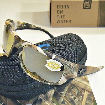 Costa Del Mar Fantail Polarized Sunglasses-Mossy Oak Camo/Sunrise-Silver Mr 580P