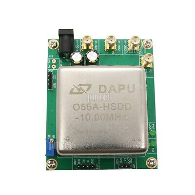 Adjustable Board Reference 10mhz Ocxo Crystal Oscillator Frequency Reference