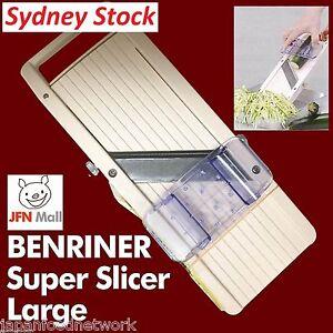 @GENUINE SELLER@ LARGE SUPER BENRINER JULIENNE SLICER Mandolin Cutter Shredder