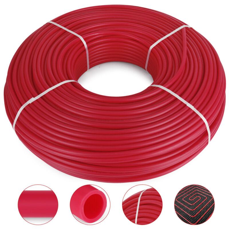 "1/2"" x 1000ft Pex Tubing Oxygen Barrier O2 EVOH Red 1,000 ft Radiant Floor Heat"