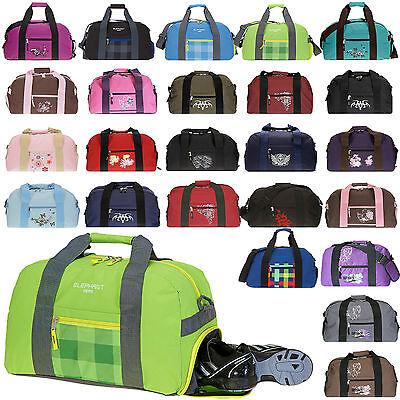 Sporttasche ELEPHANT SPEAR Schulsporttasche Kindertasche Schuhfach WAHL +Flasche