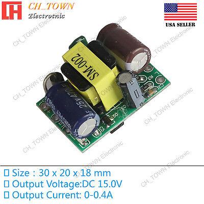 Ac-dc 15.0v 0.4a 5w Power Supply Buck Converter Step Down Module High Quality Us