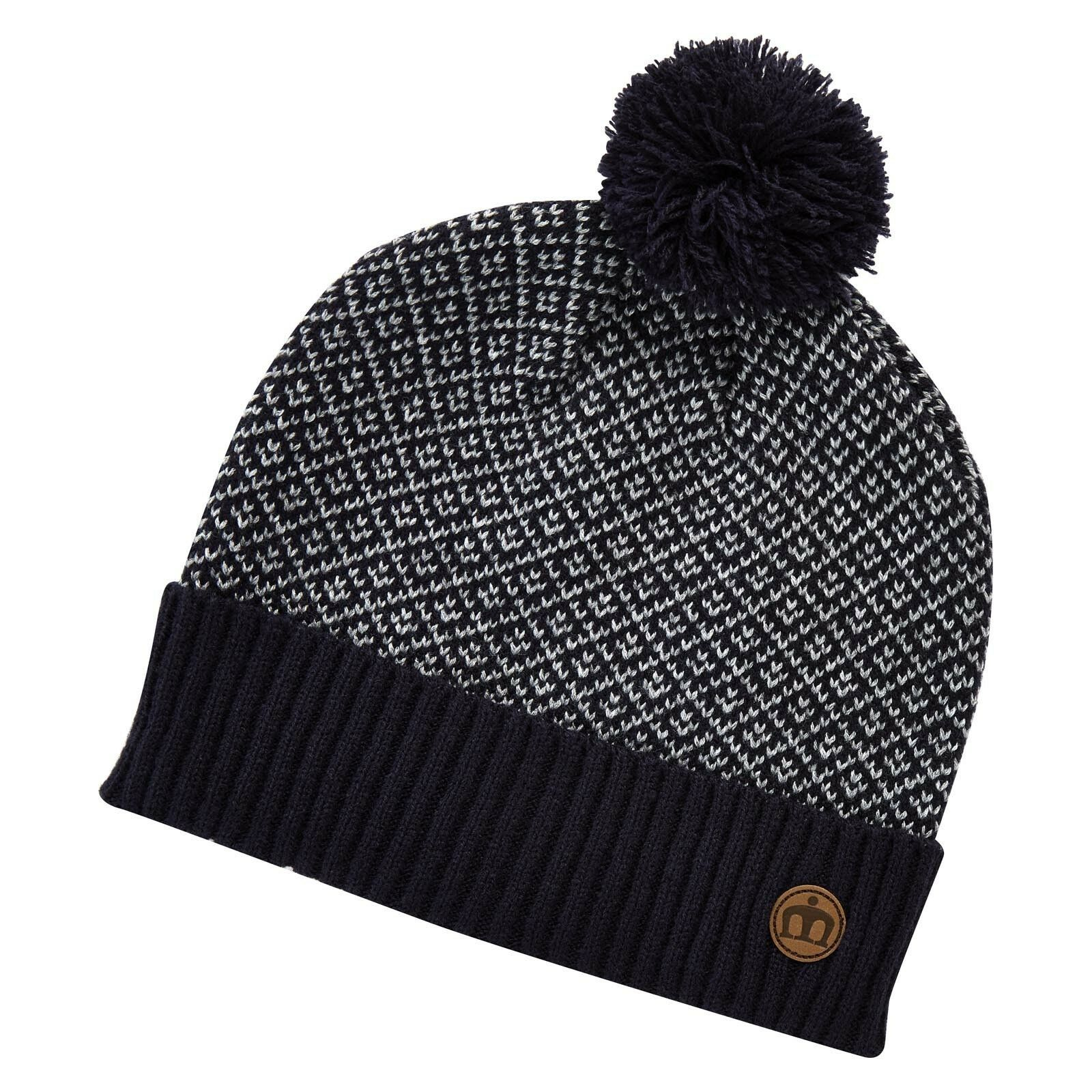 SCONTO 20% MERC LONDON CROYDON CAPPELLO PON PON BERRETTO CASUAL BOBBLE HAT