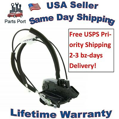 Power Door Lock Actuator w/ Cables for 07-12 NISSAN ALTIMA Sedan Front Right