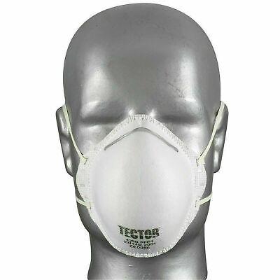 20 Tector Feinstaubmaske FFP1 P1 Maske Atemschutz Staubmaske Mundschutz
