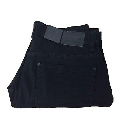 Steve's Jeans Men's Stretch Denim Skinny Leg Black Jeans Size 32x30 New AR277