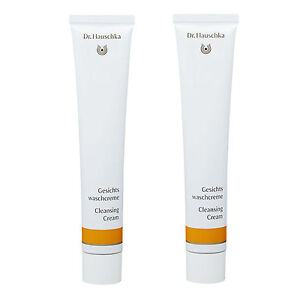 2 x Dr. Hauschka Cleansing Cream 50ml 1.7oz Cleansers Exfoliating  NEW All Skin